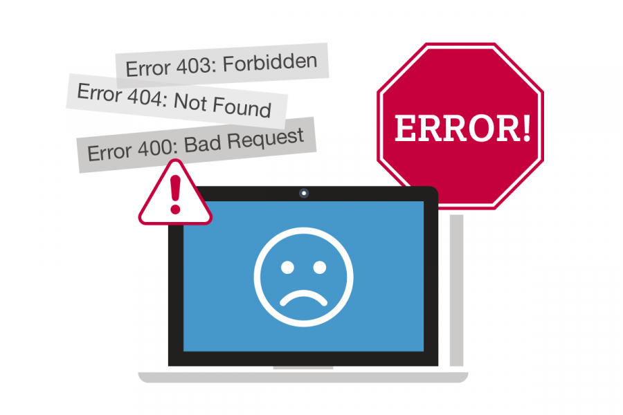nine most common website problems